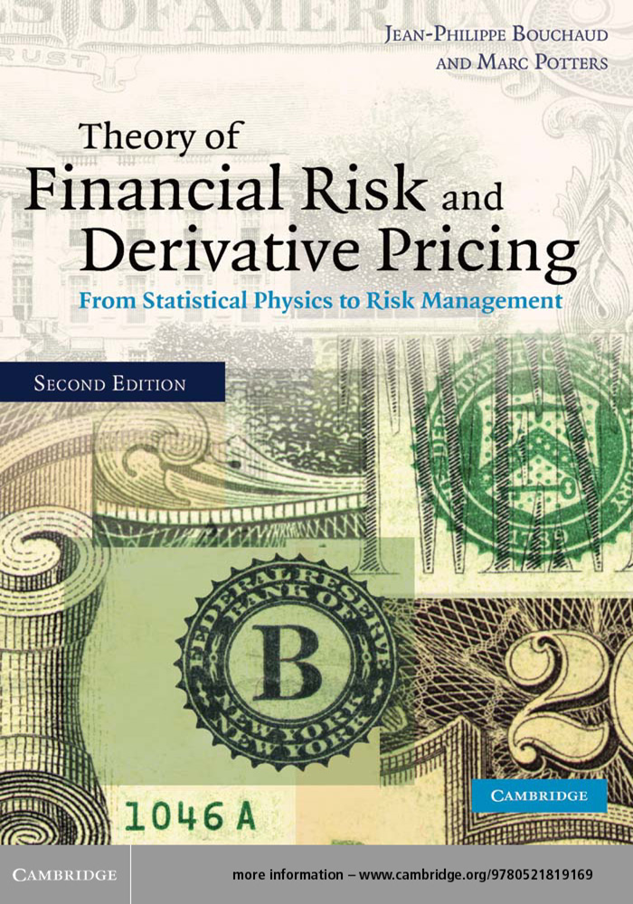 Theory of Financial Risk and Derivative Pricing From Statistical Physics to Risk Management