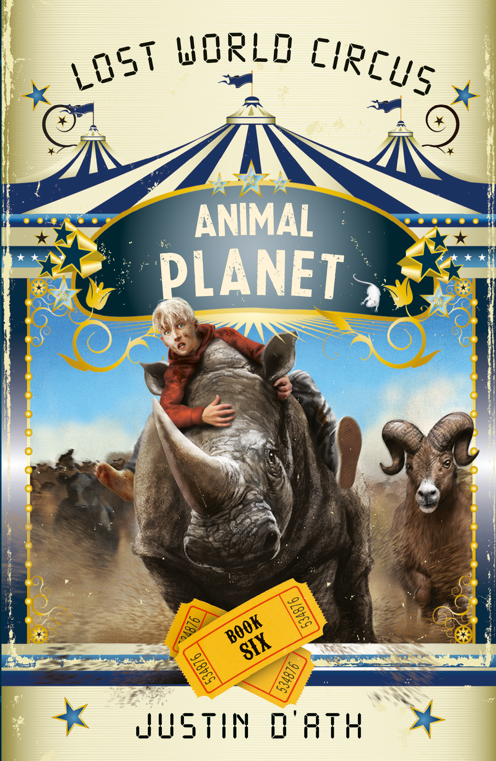 Lost World Circus Animal Planet Bk 6