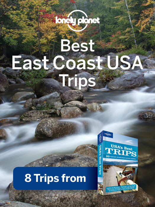 Lonely Planet Best East Coast USA's Trips 8 Trips from USA's Best Trips Travel Guide