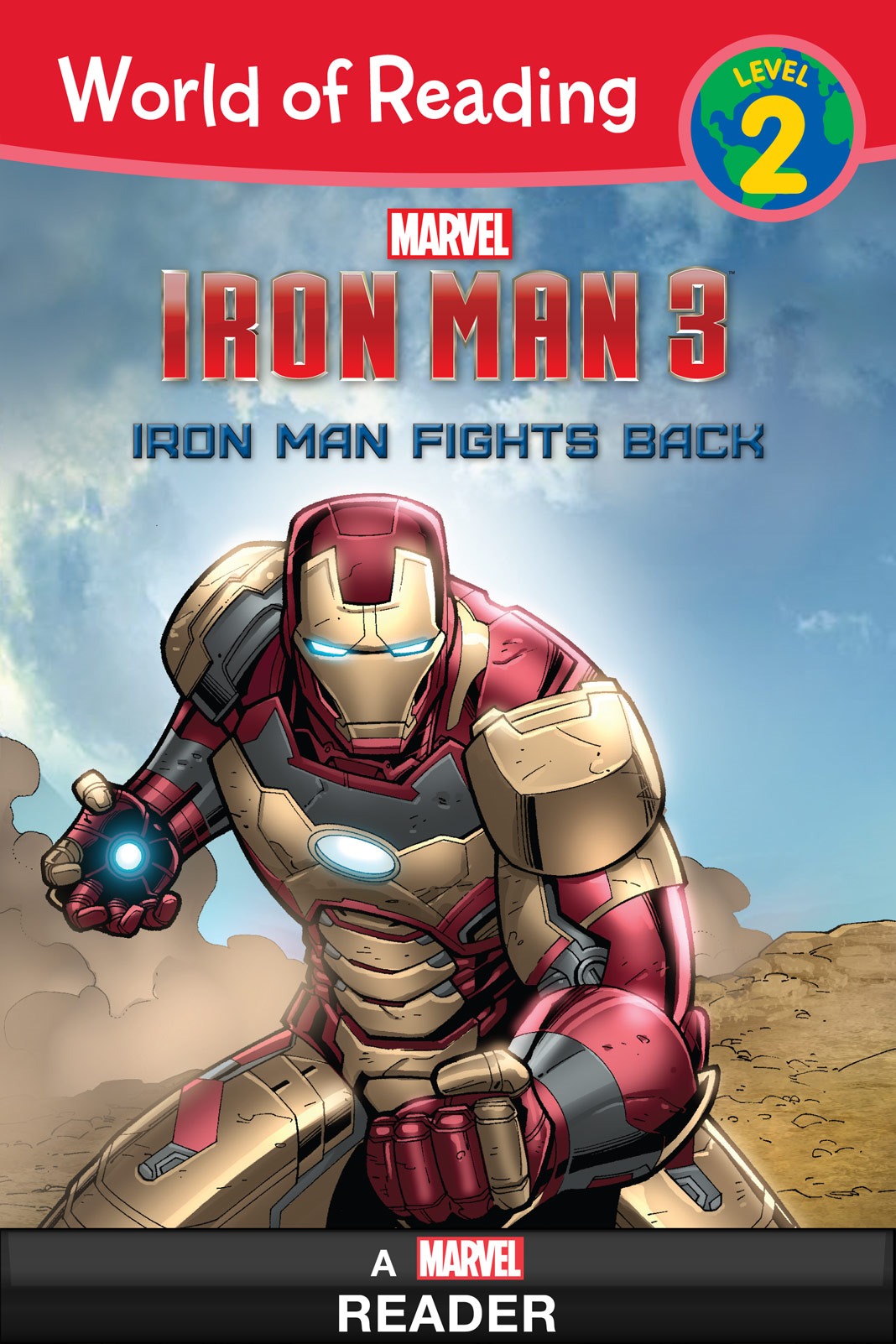 World of Reading Iron Man 3:  Iron Man Fights Back