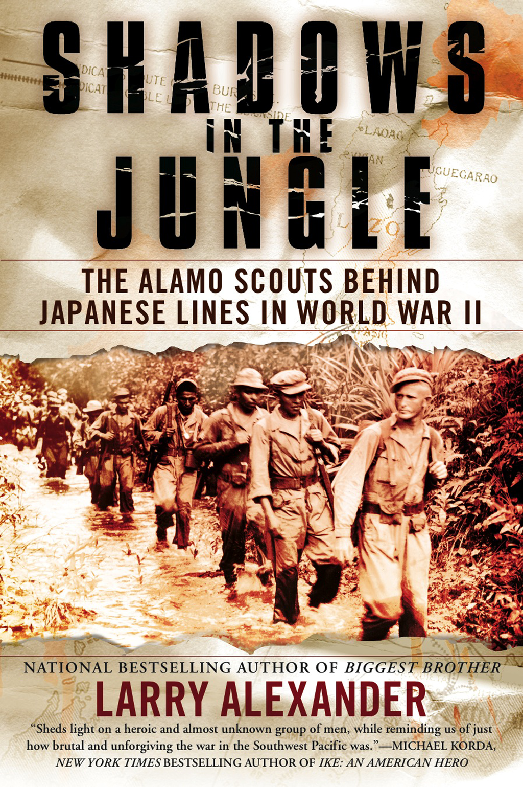 Shadows in the Jungle: The Alamo Scouts Behind Japanese Lines in World War II