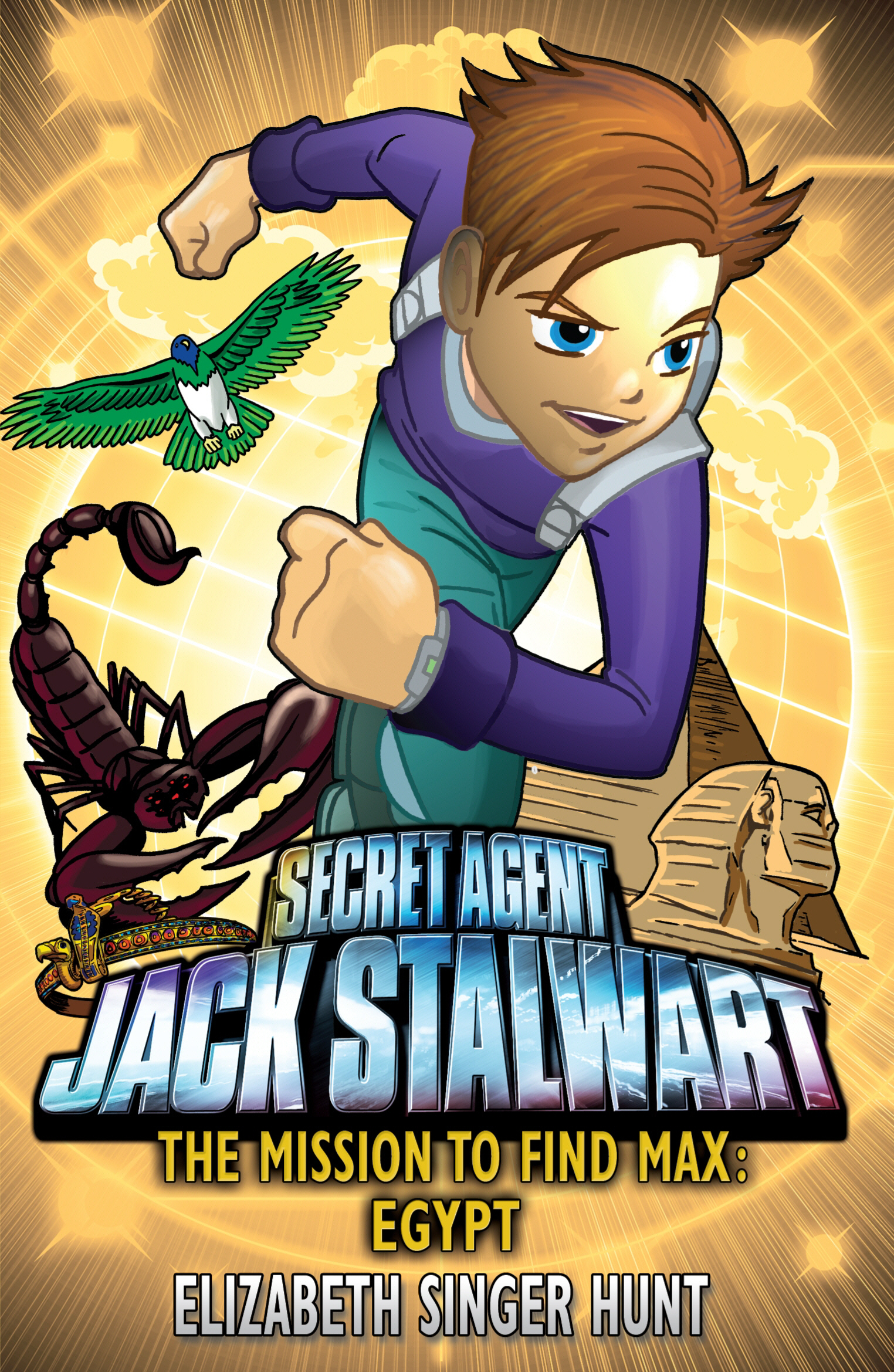 Jack Stalwart: The Mission to find Max Egypt: Book 14