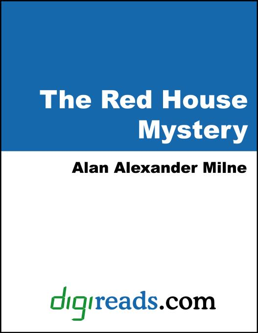 Cover Image: The Red House Mystery