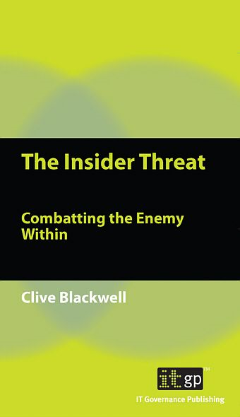 9781849280112  The Insider Threat