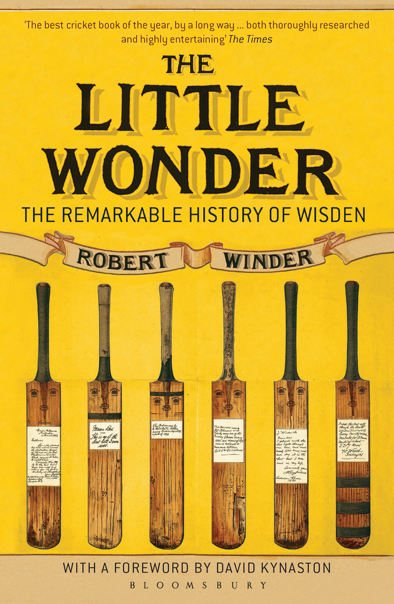 The Little Wonder The Remarkable History of Wisden