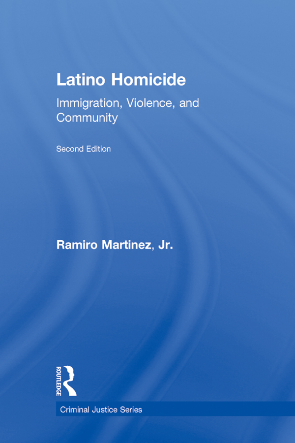 Latino Homicide Immigration,  Violence,  and Community