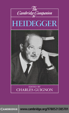 Cambridge Companion Heidegger 1ed