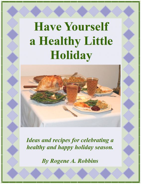 Have Yourself a Healthy LIttle Holiday