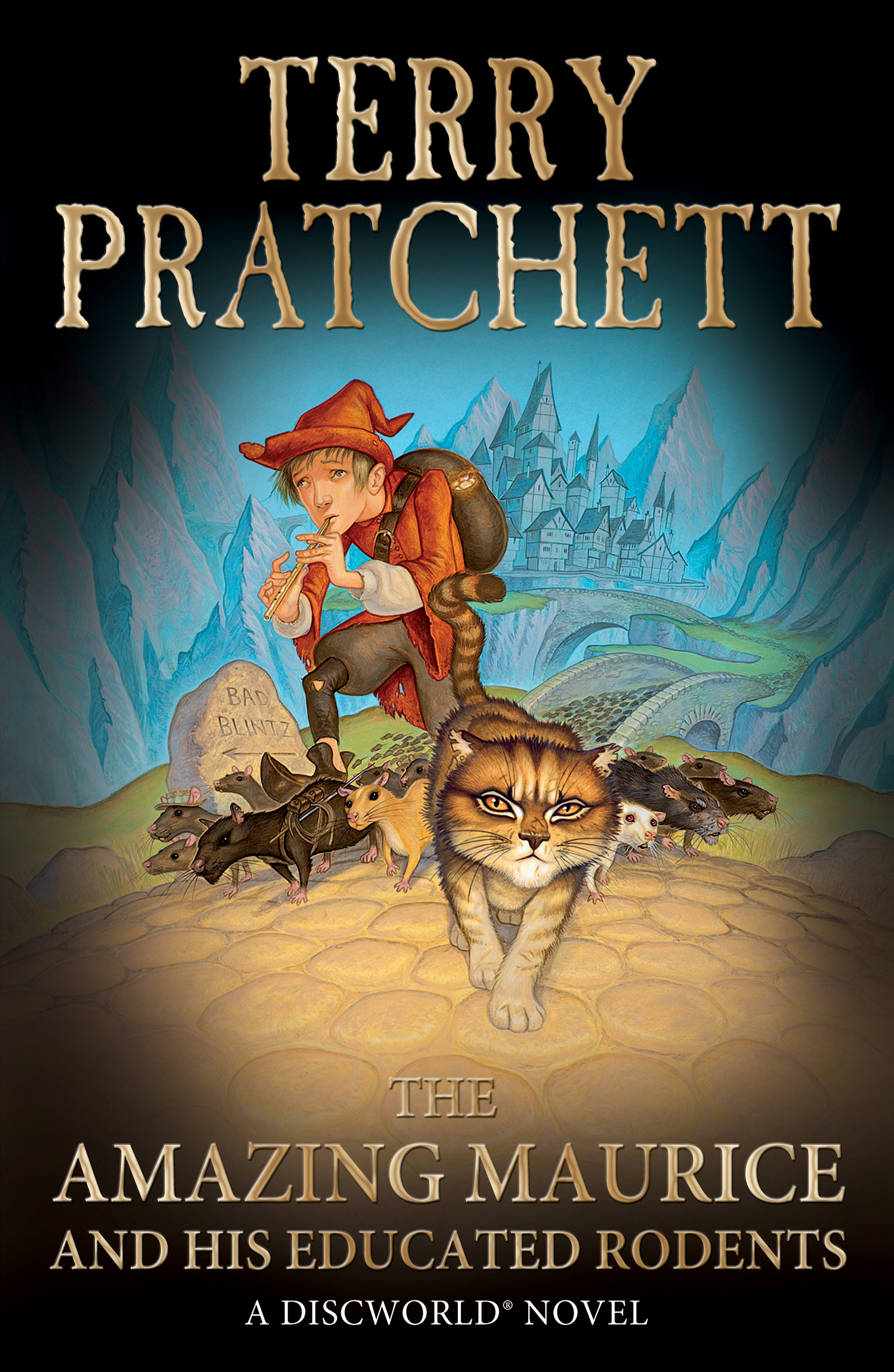 The Amazing Maurice and his Educated Rodents (Discworld Novel 28)