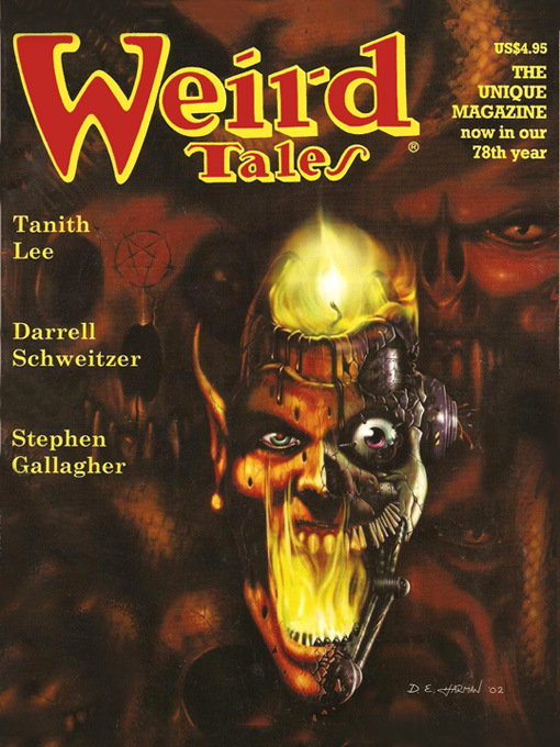Weird Tales #327 By: Darrell Schweitzer,Ralph Gamelli,Stephen Gallagher,Tanith Lee,Thomas Ligotti