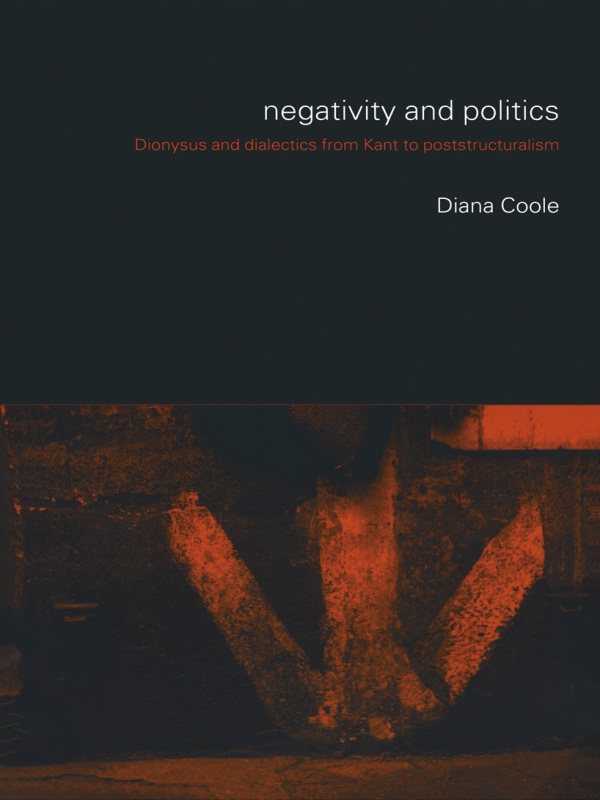 Negativity and Politics By: Diana Coole
