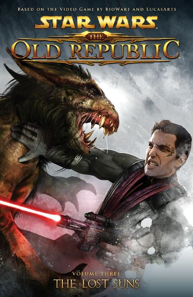 Star Wars: The Old Republic Volume 3The Lost Suns  By: Alexander Freed, George Freeman (Penciller), Dave Ross (Penciller), David Daza (Penciller), Mark McKenna (Artist), Benjamin Carré (Cover Artist)