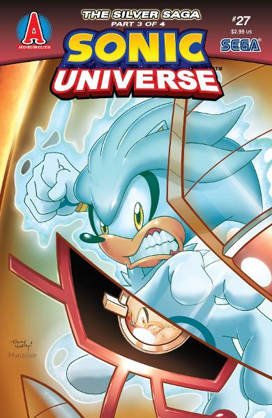 Sonic Universe #27 By: Ian Flynn, Tracy Yardley!