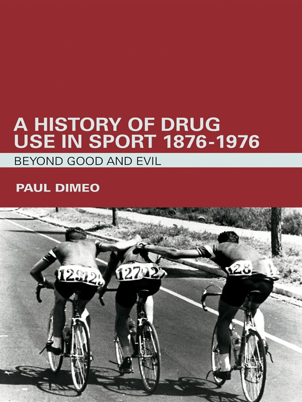 Drugs and Sport Beyond Good and Evil