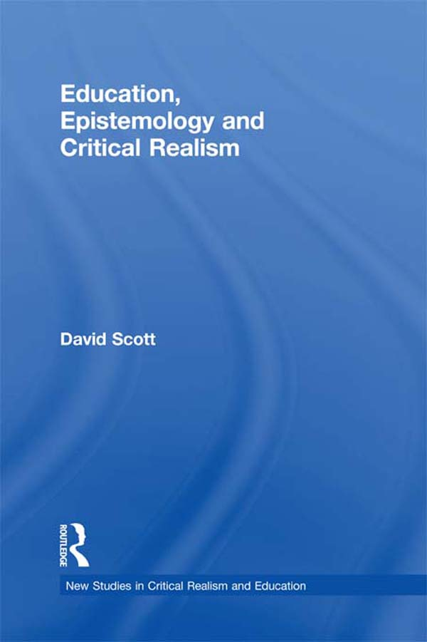Education,  Epistemology and Critical Realism