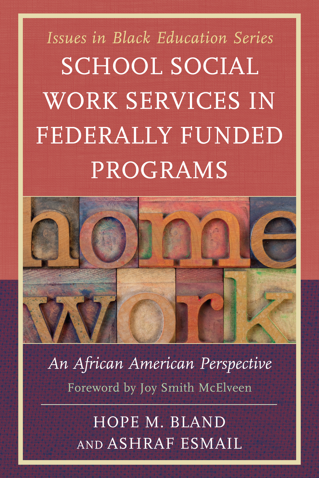 School Social Work Services in Federally Funded Programs An African American Perspective