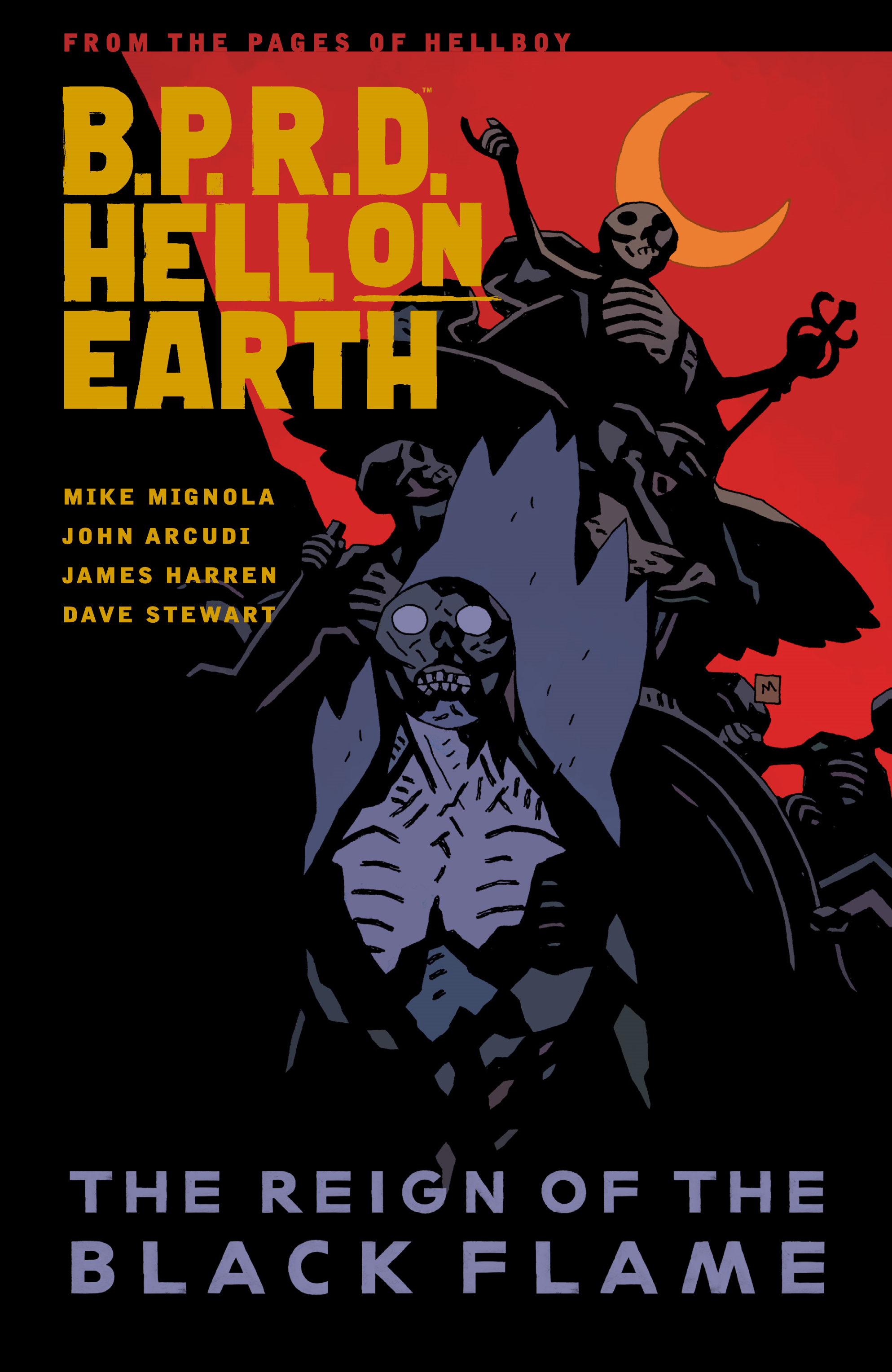 B.P.R.D. Hell on Earth Volume 9: The Reign of the Black Flame