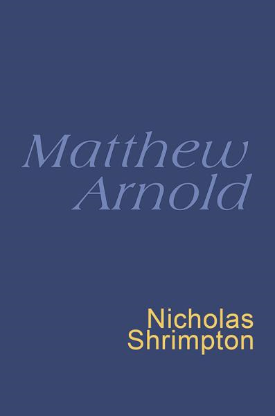 Matthew Arnold Everyman's Poetry