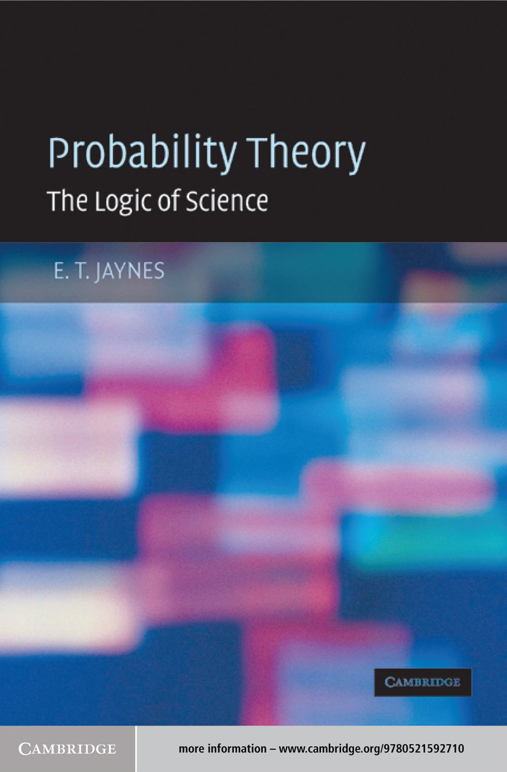 Probability Theory The Logic of Science