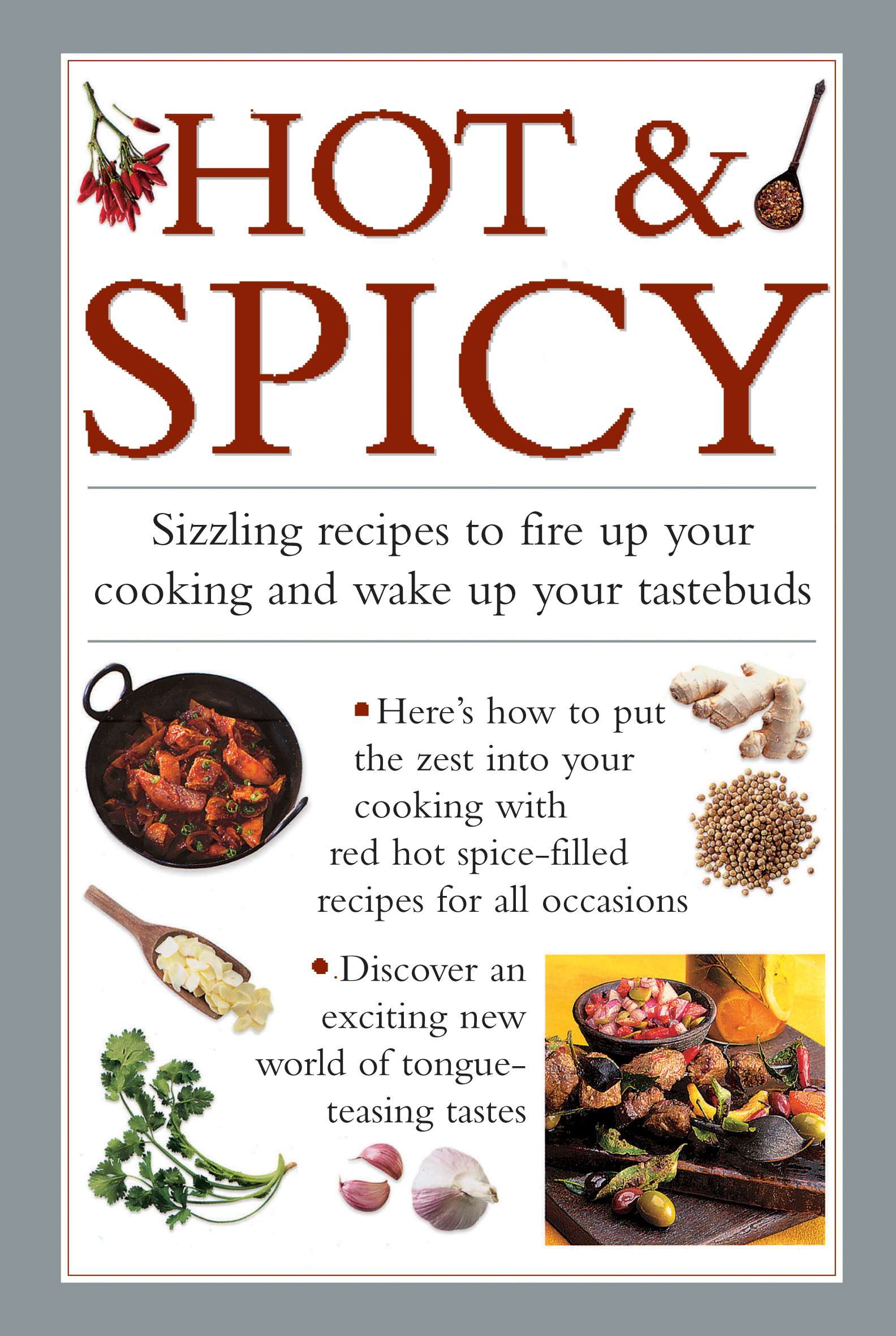 Hot & Spicy Sizzling Recipes to Fire Up Your Cooking and Wake Up Your Tastebuds