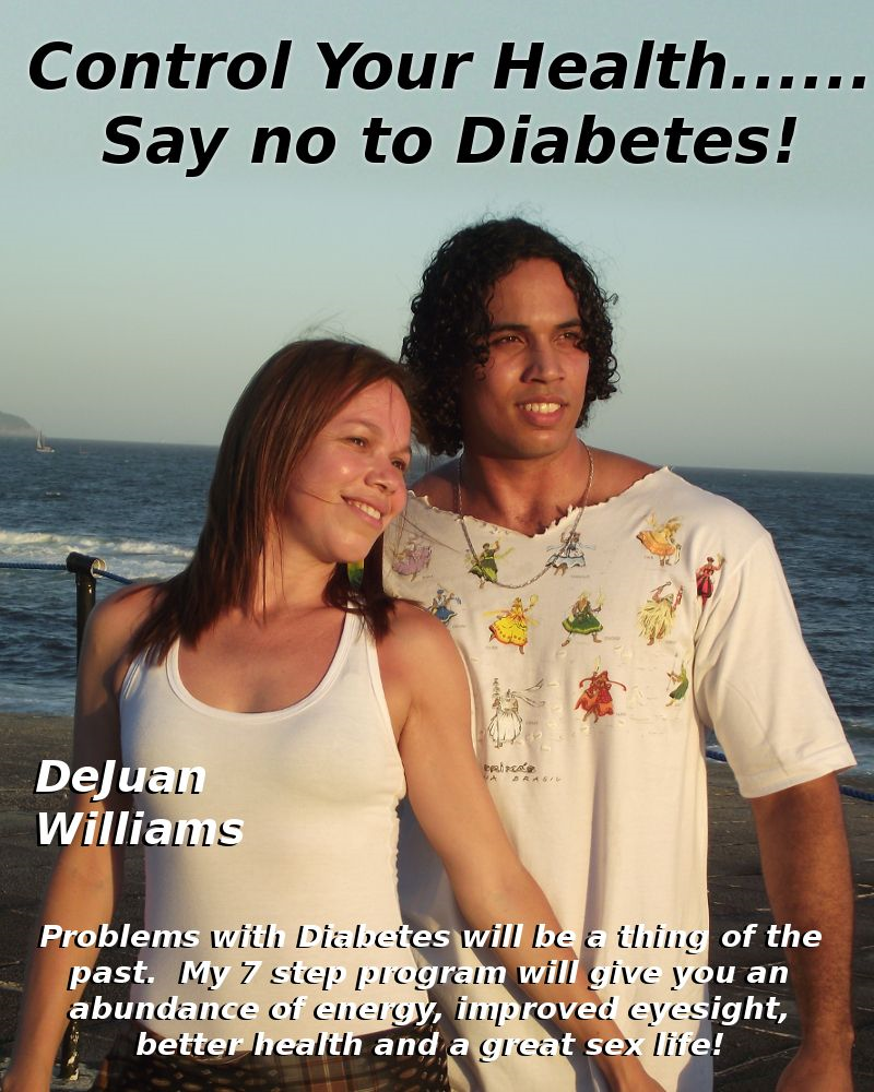 Controll Your Health... Say No to Diabetes
