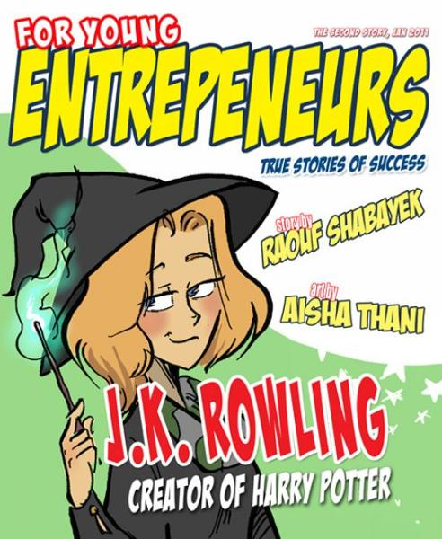 For Young Entrepreneurs, Story of J.K. Rowling
