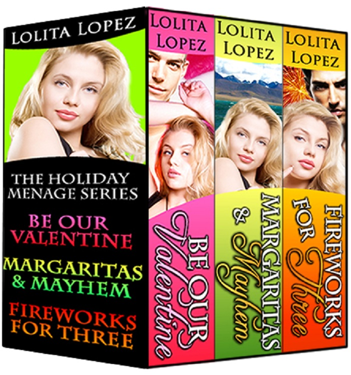 Holiday Menage Boxed Set, Volume 1 (Books 1-3) By: Lolita Lopez