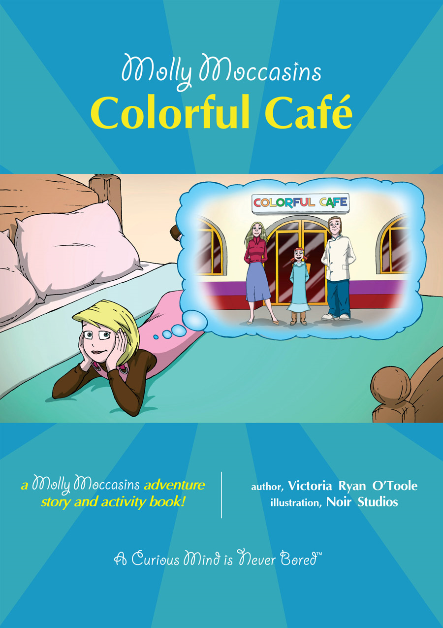 Colorful Café By: Victoria Ryan O'Toole,Urban Fox Studios