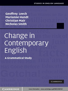 Change in Contemporary English A Grammatical Study
