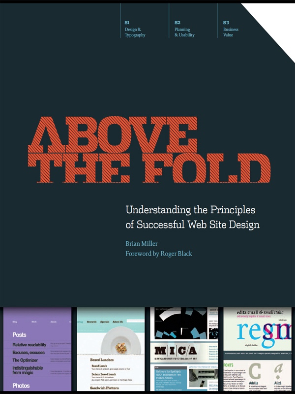 Above the Fold Understanding the Principles of Successful Web Site Design