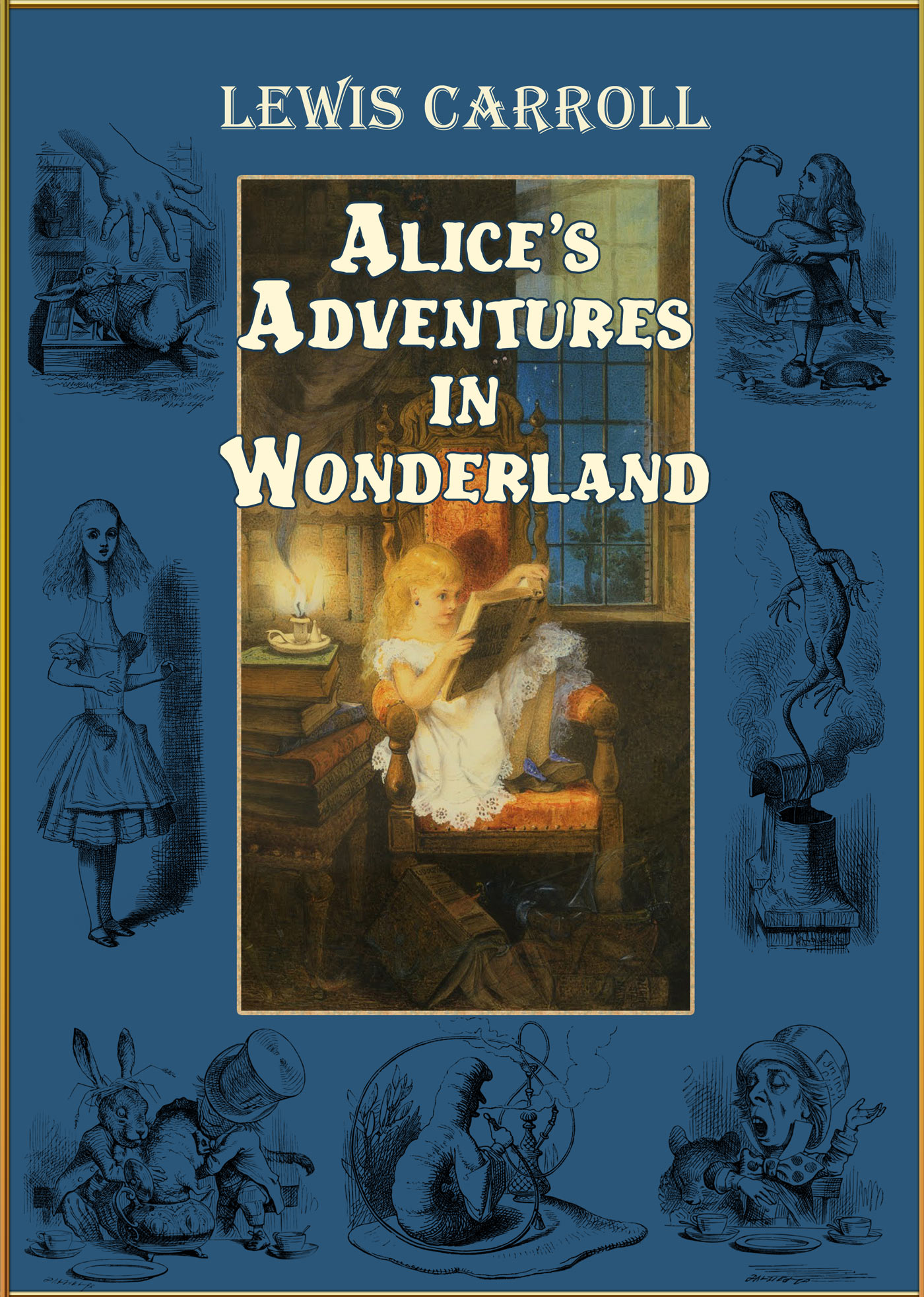 Alice's Adventures in Wonderland (Alice in Wonderland) [Illustrated]