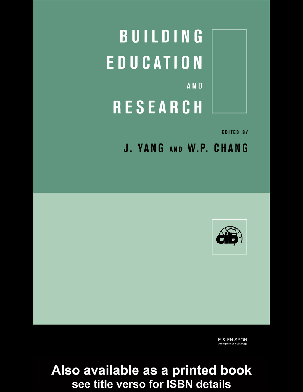 Building Education and Research By: