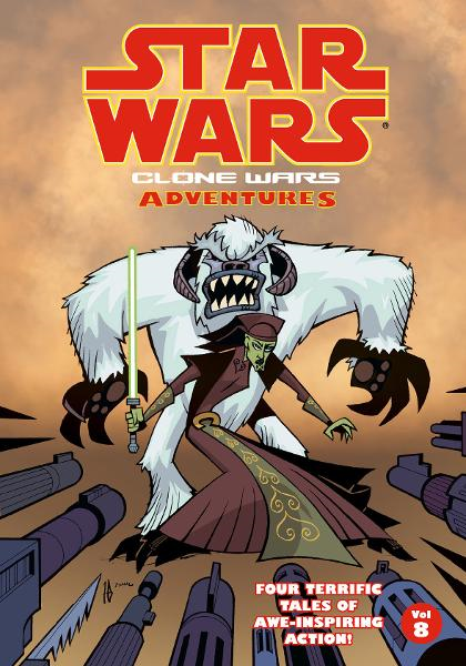 Star Wars: Clone Wars Adventures Volume 8