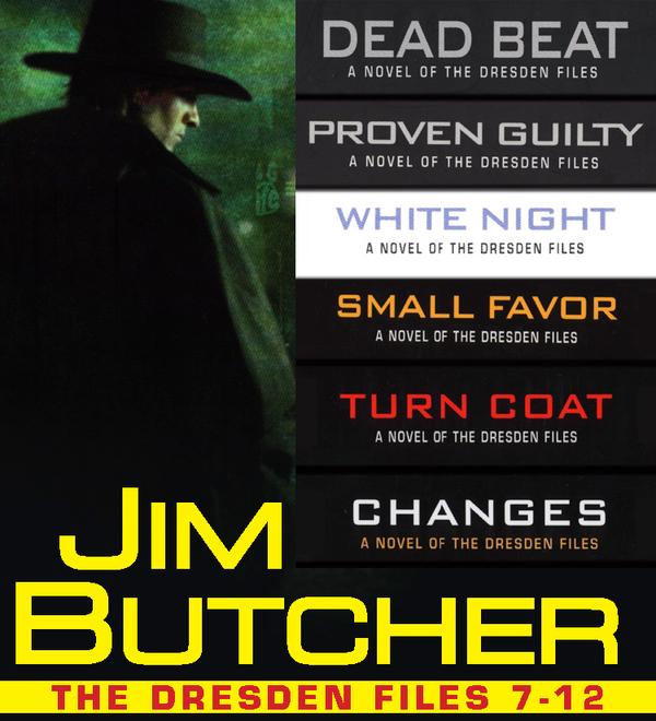 The Dresden Files Collection 7-12 By: Jim Butcher