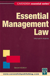 Essential Management Law: