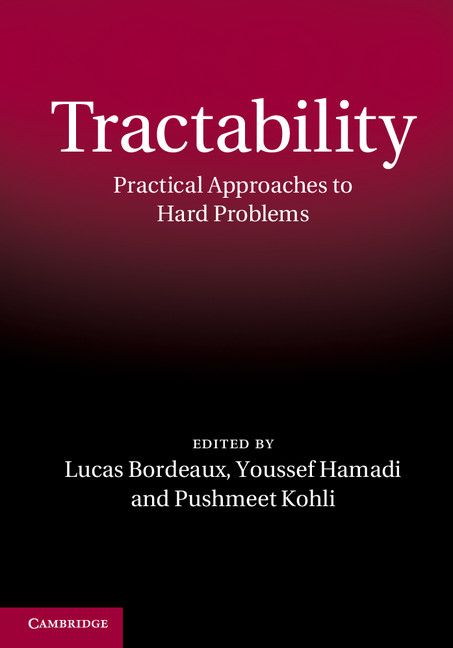 Tractability Practical Approaches to Hard Problems