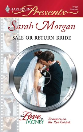 Sale or Return Bride By: Sarah Morgan