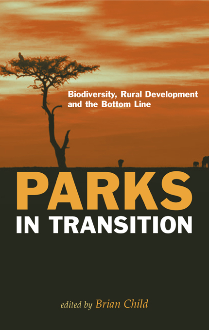 """Parks in Transition """"Biodiversity,  Rural Development and the Bottom Line"""""""
