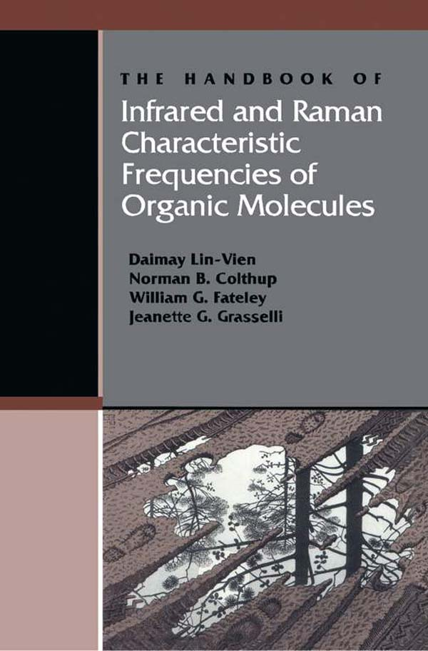 The Handbook of Infrared and Raman Characteristic Frequencies of Organic Molecules