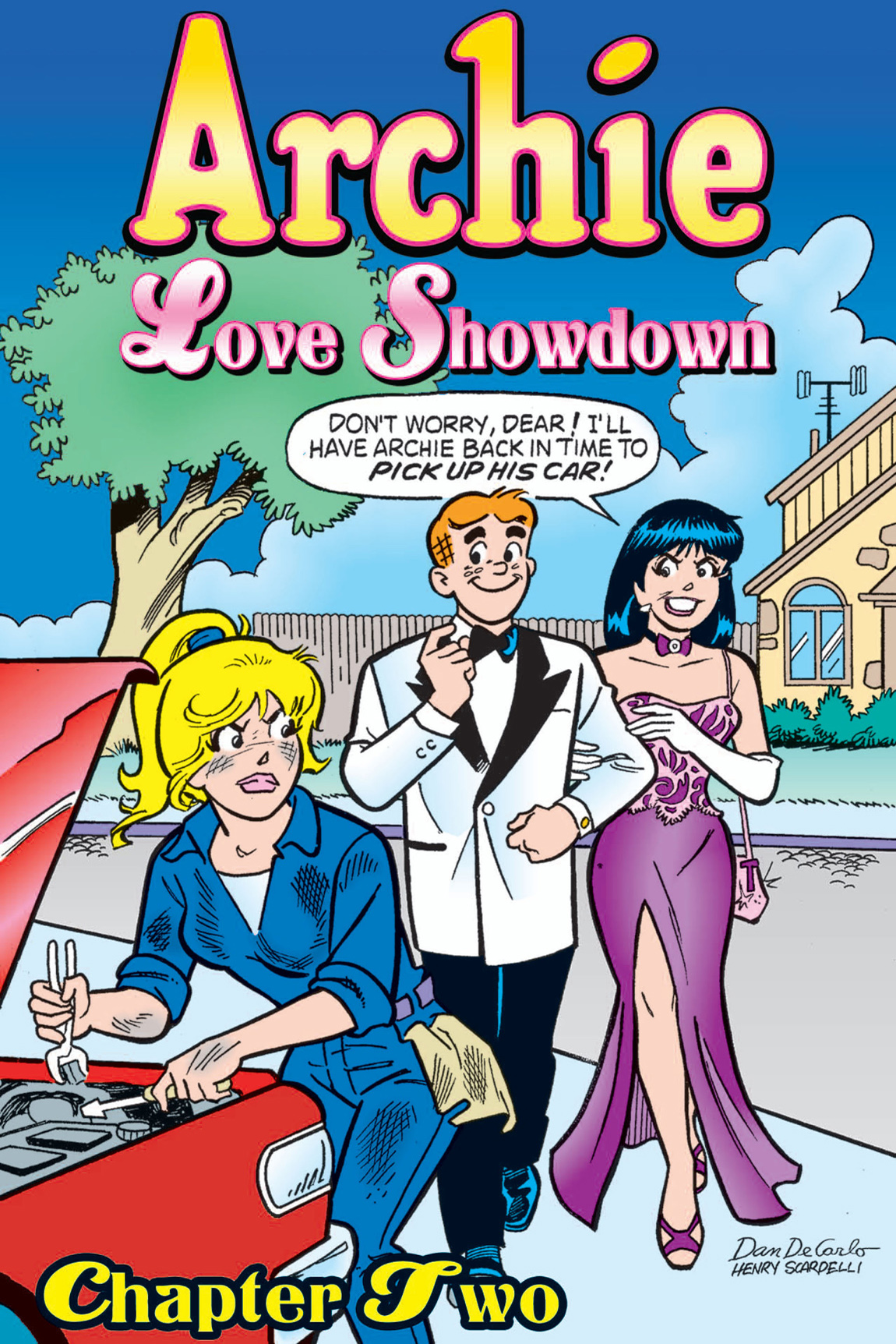 Archie Love Showdown #2 By: Bill Golliher, Doug Crane, Ken Selig, Barry Grossman, Bill Yoshida