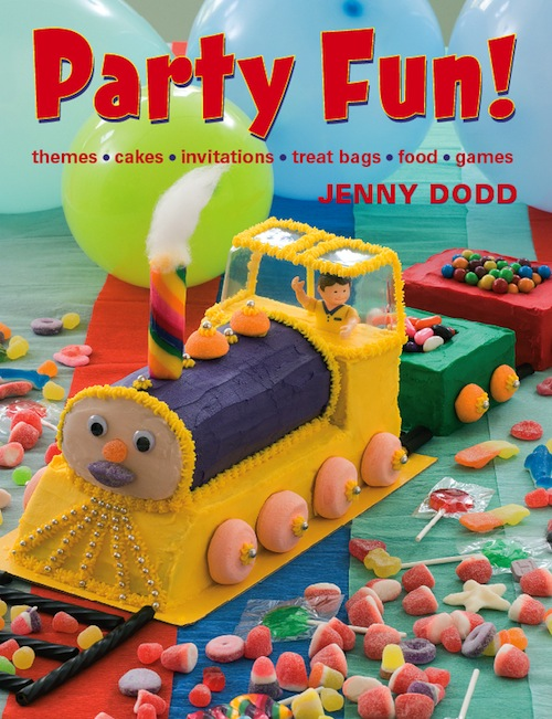 Party Fun! Themes,  cakes,  invitations,  treat bags,  food,  games