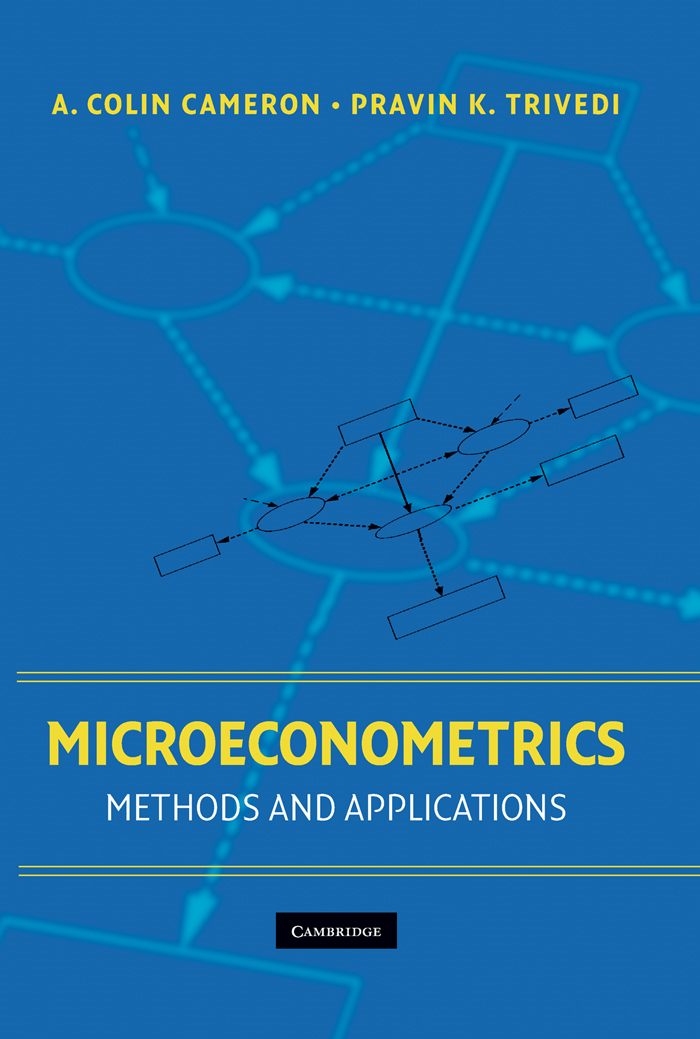 Microeconometrics Methods and Applications