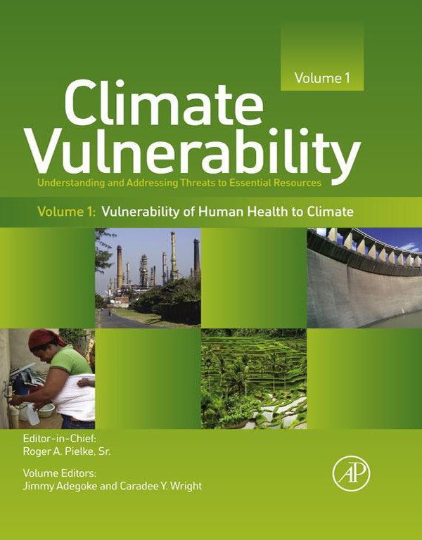 Climate Vulnerability Understanding and Addressing Threats to Essential Resources