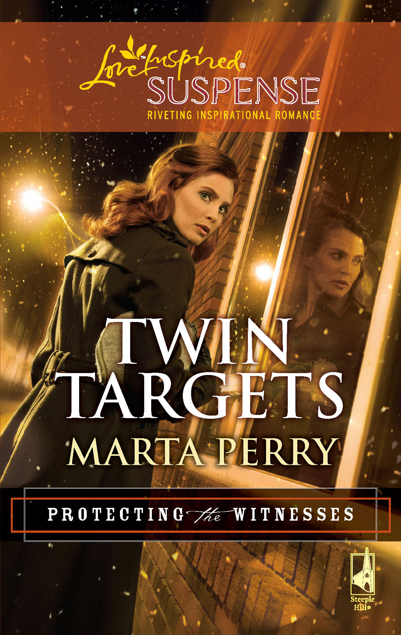 Twin Targets (Mills & Boon Love Inspired Suspense) (Protecting the Witnesses - Book 1)