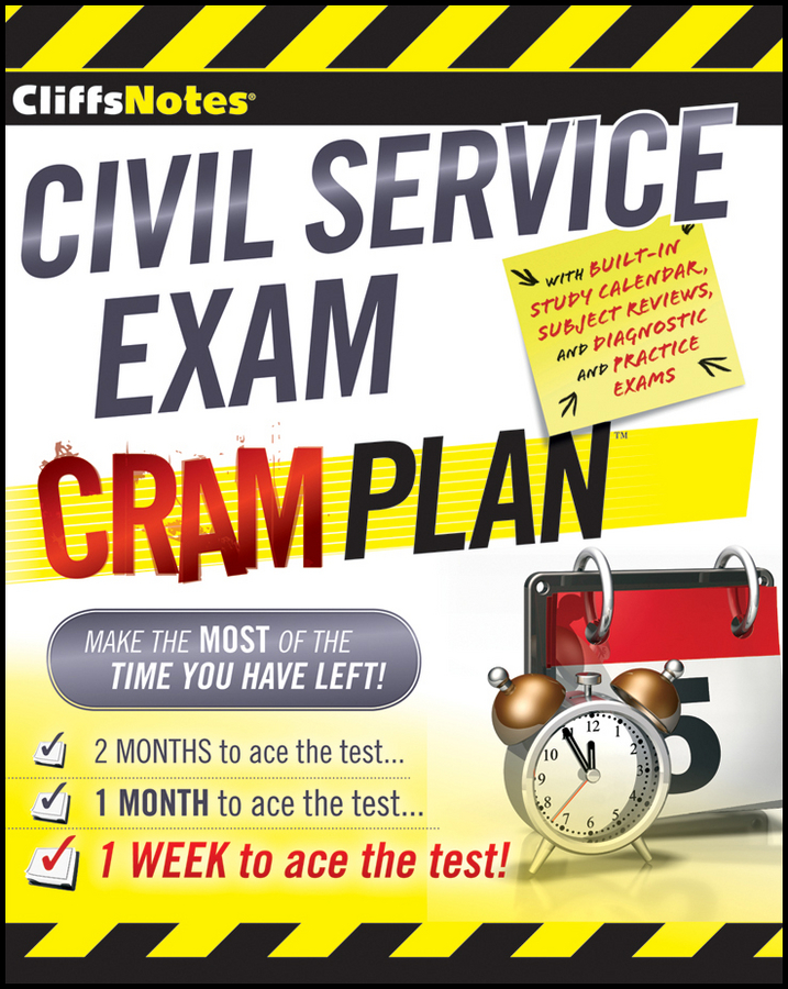 CliffsNotes Civil Service Exam Cram Plan