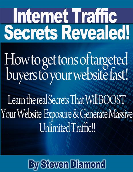 How to get tons of highly targeted buyers to your website or blog fast! Learn the real secrets that will boost your website or blogs exposure and generate massive unlimited traffic.: How to get tons of targeted buyers to your website fast! By: Steven Diamond