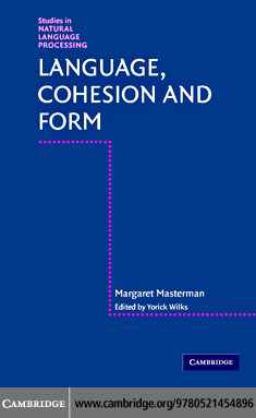 Language, Cohesion and Form