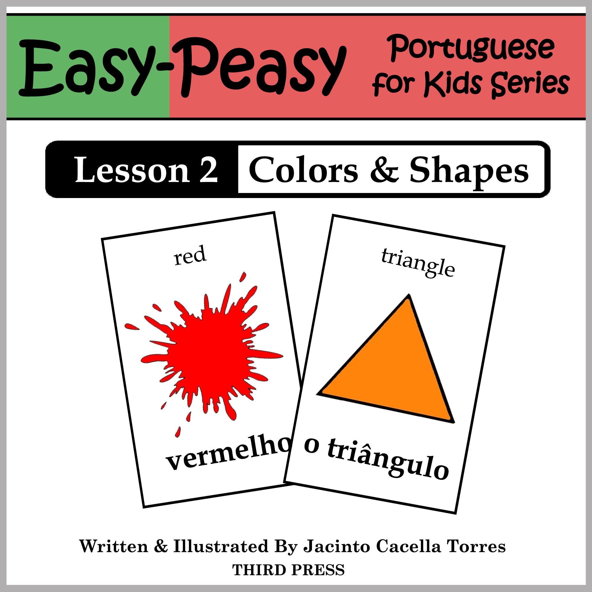 Portuguese Lesson 2: Colors & Shapes