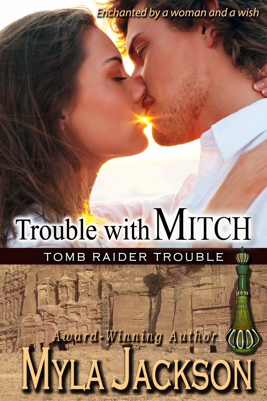 Trouble With Mitch (Book#3 - Tomb Raider Trouble)