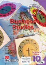 Solutions for All Business Studies Grade 10 Teacher's Guide